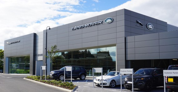 booth muirie's specialist cladding creates biggest jaguar land rover